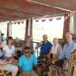 Enjoying our relaxing Dahabiya Dream Nile Cruise
