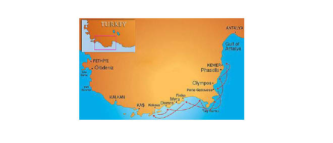 Turkey Gulet Cruises