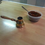 Arabic coffee very finely ground