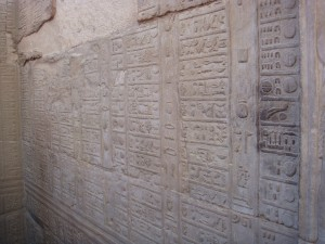 Calendar at Kom Ombo Temple