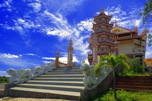 Buddhist Temple Phan Thiet