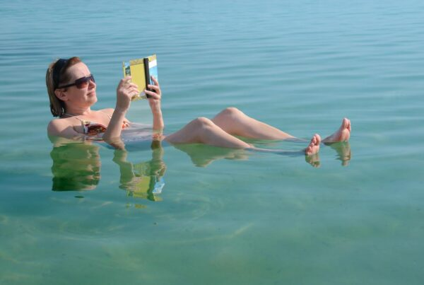 Dead Sea relaxing
