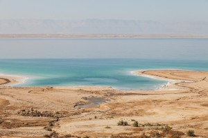 Dead sea from the Jordanian side