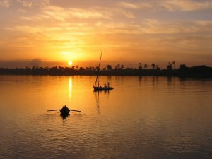 Nile-by-Sunset