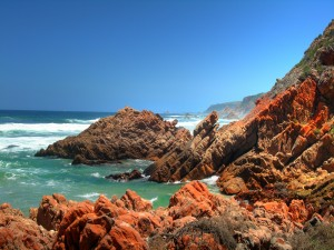 Noetzie Rocks in Knysna, South Africa
