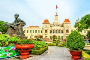 The City Hall of Ho Chi Minh City,