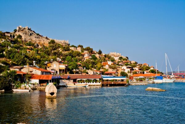 Turkey fishing village