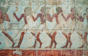 Wall ornament at the Hatshepsut Temple