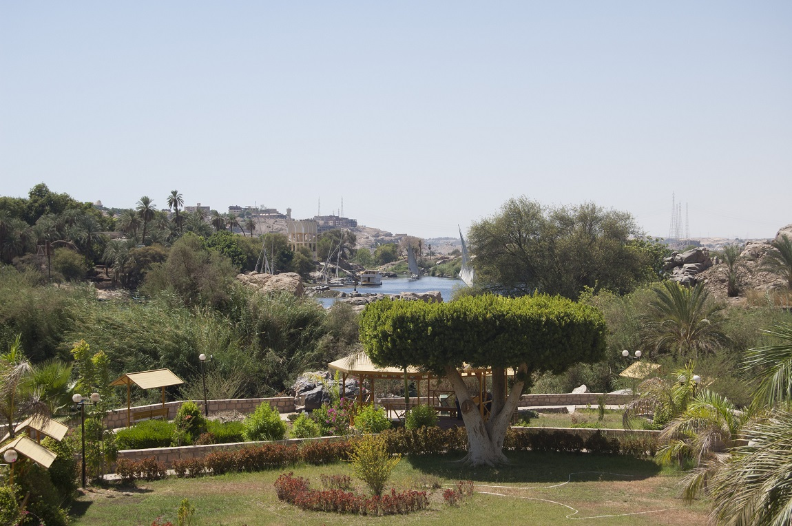 View from Old Cataract Hotel Aswan