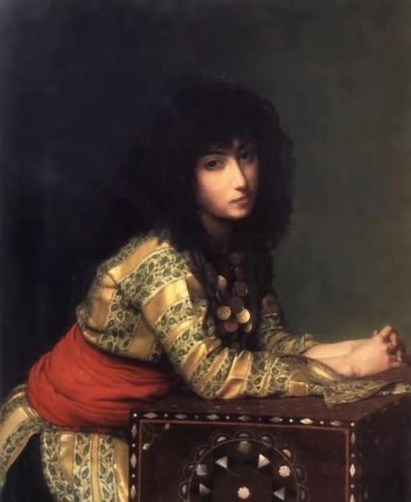 An Egyptian Girl 1877